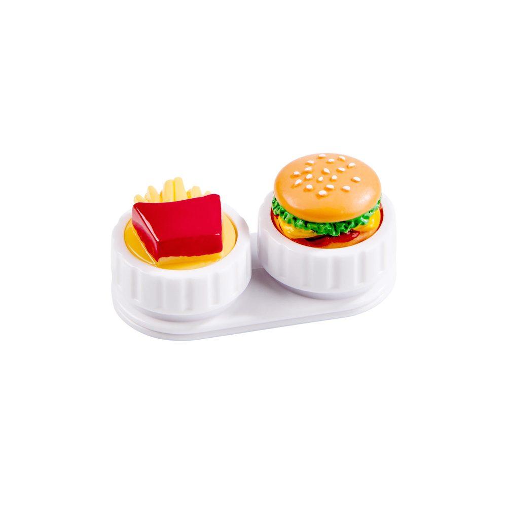 CRAZY CONTACTS Pouzdro na kontaktní čočky fast food