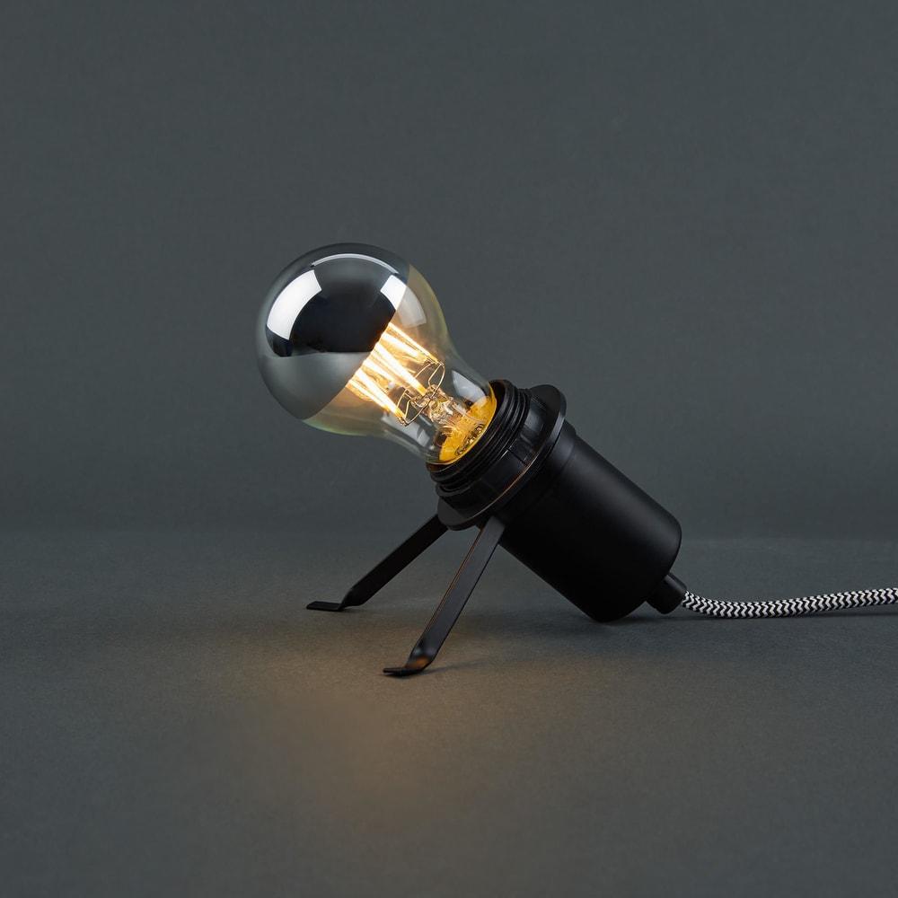 BRIGHT LIGHT LED Dekorační žárovka A 60 zrcadlová