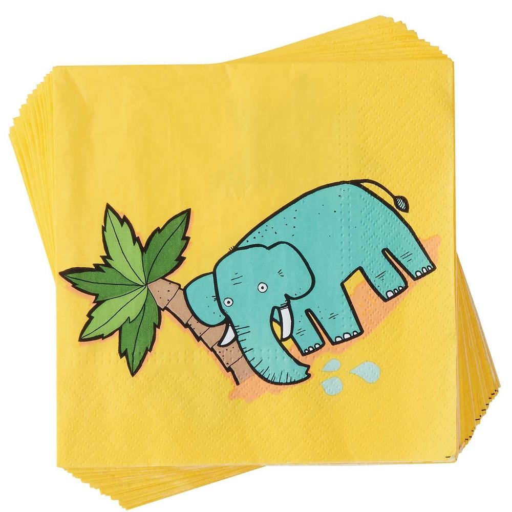 Fotografie APRÉS Papírové ubrusky slon 20 ks
