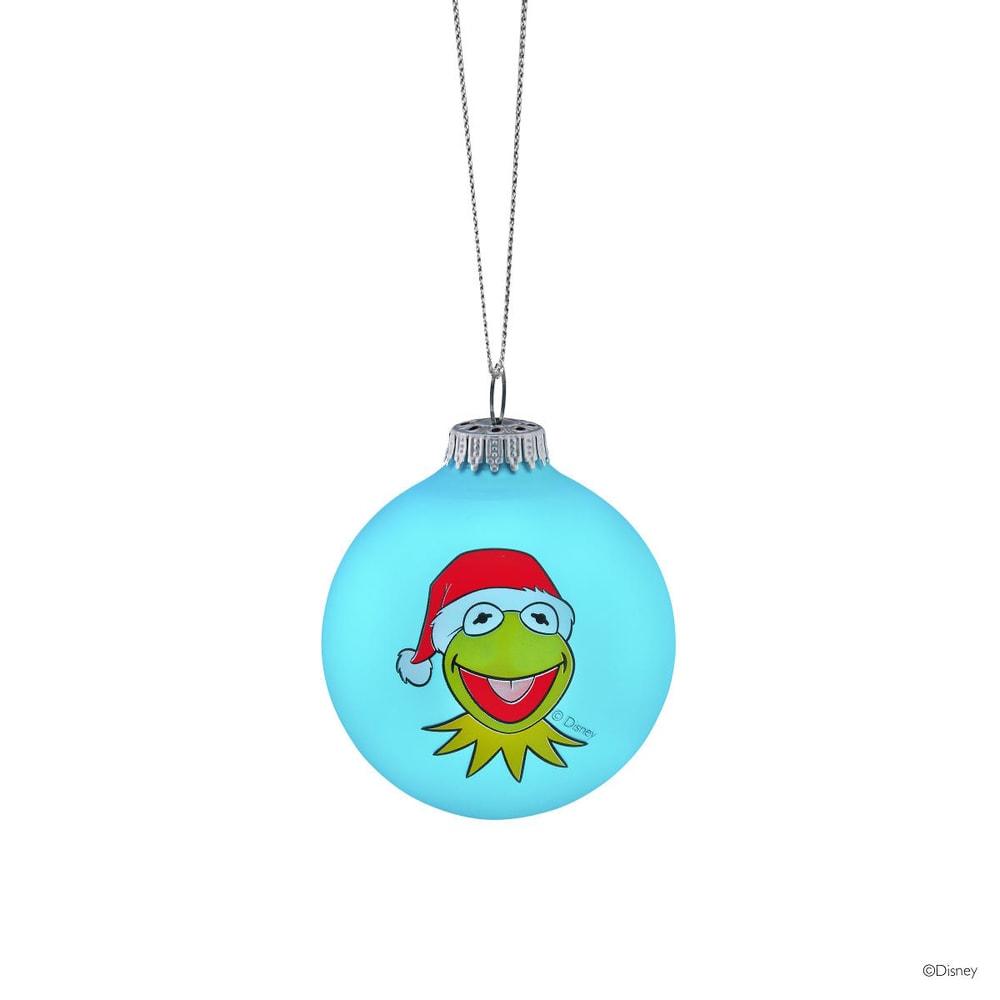 Fotografie MUPPETS Vánoční koule Kermit