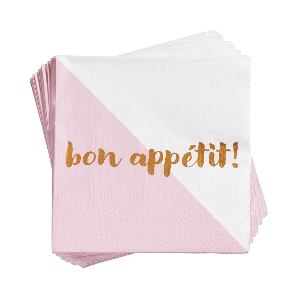 """CELEBRATION Ubrousky """"bonappétit!"""" 20 ks"""