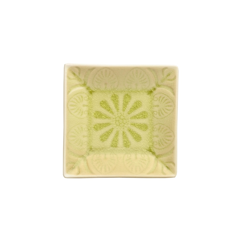 Produktové foto SUMATRA Mini miska hranatá - zelená