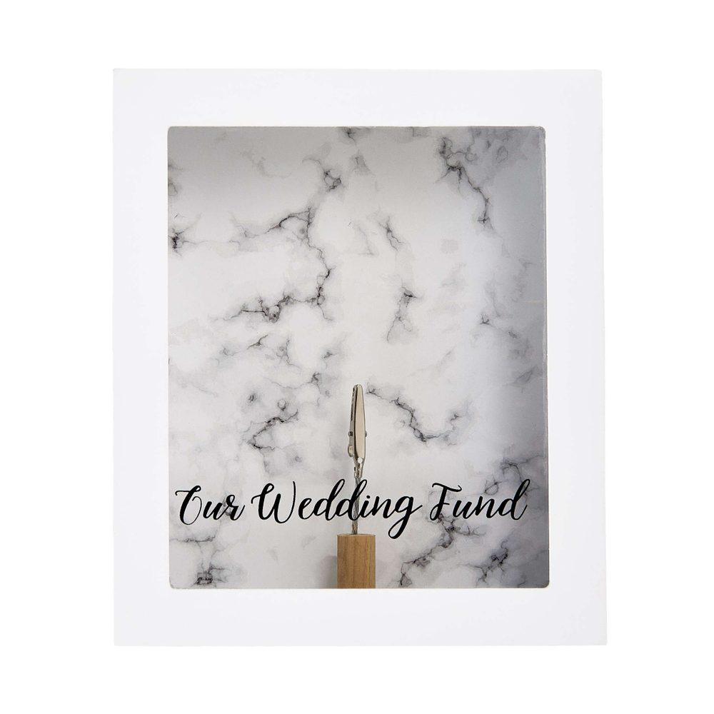 SAVE UP Rám na obraz/kasička svatba
