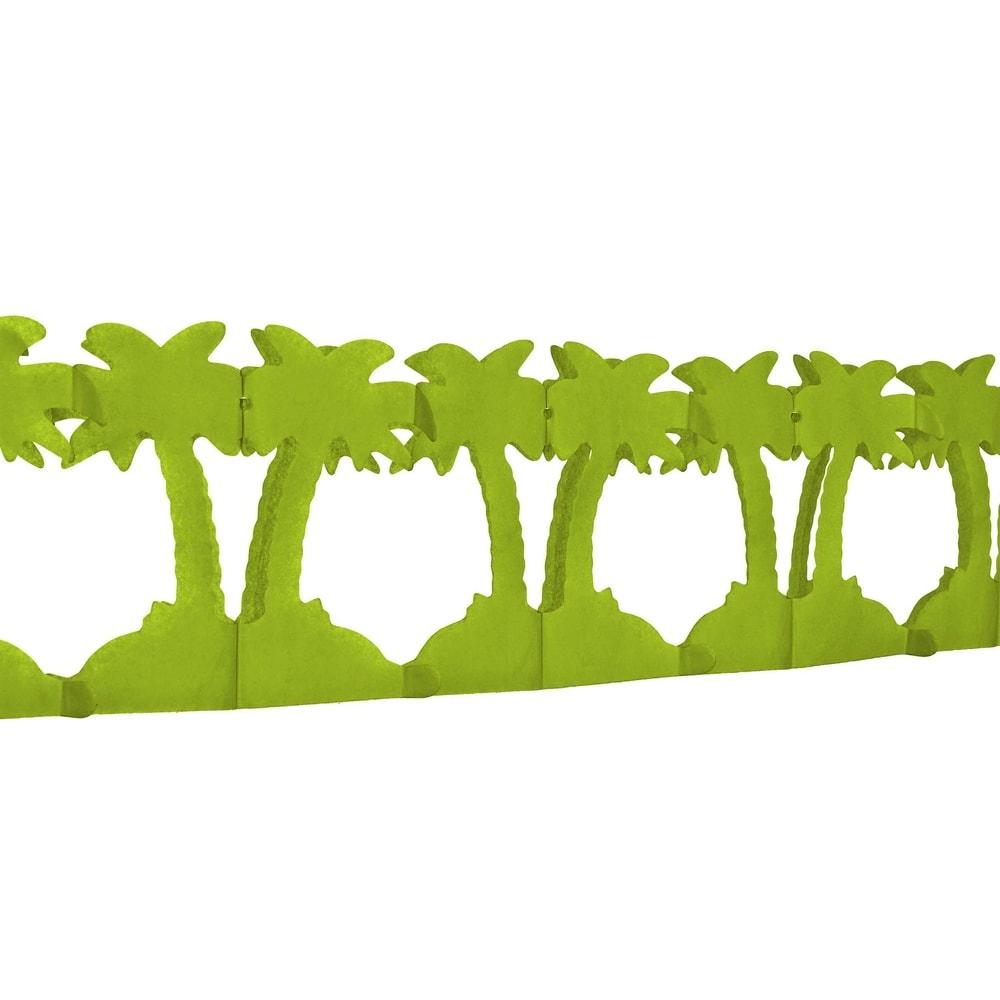 ALOHA Papírová girlanda palmy