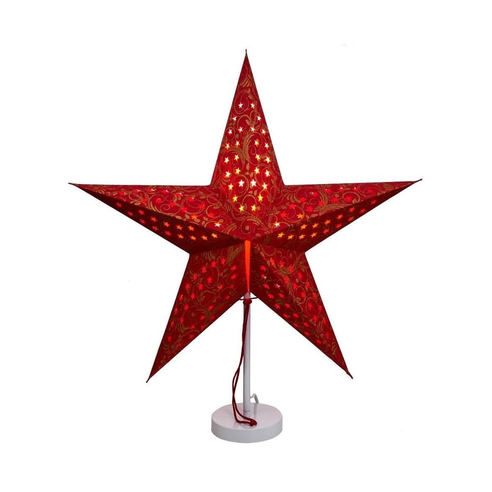 Produktové foto LATERNA MAGICA Papírová dekorační hvězda 60 cm - červená