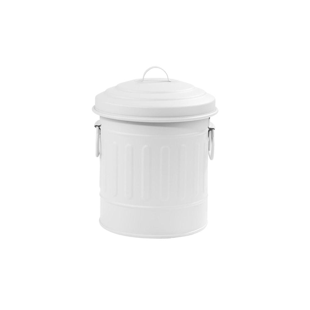 LITTLE OSCAR Odpadkový koš 1 l - bílá