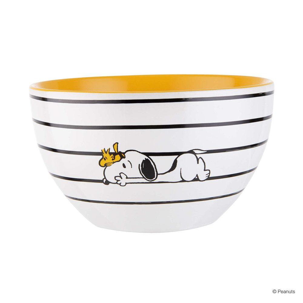 PEANUTS Miska Snoopy proužky 600 ml