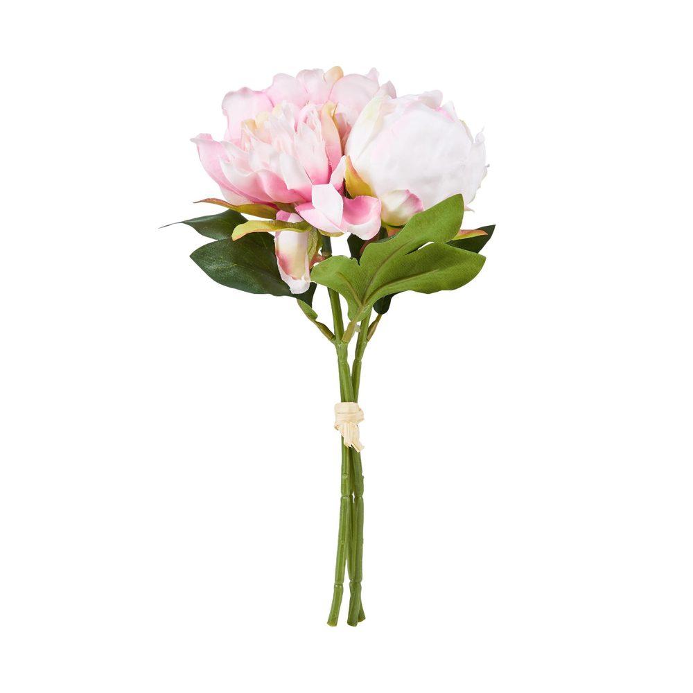 FLORISTA Pivoňka kytice - pastelově růžová