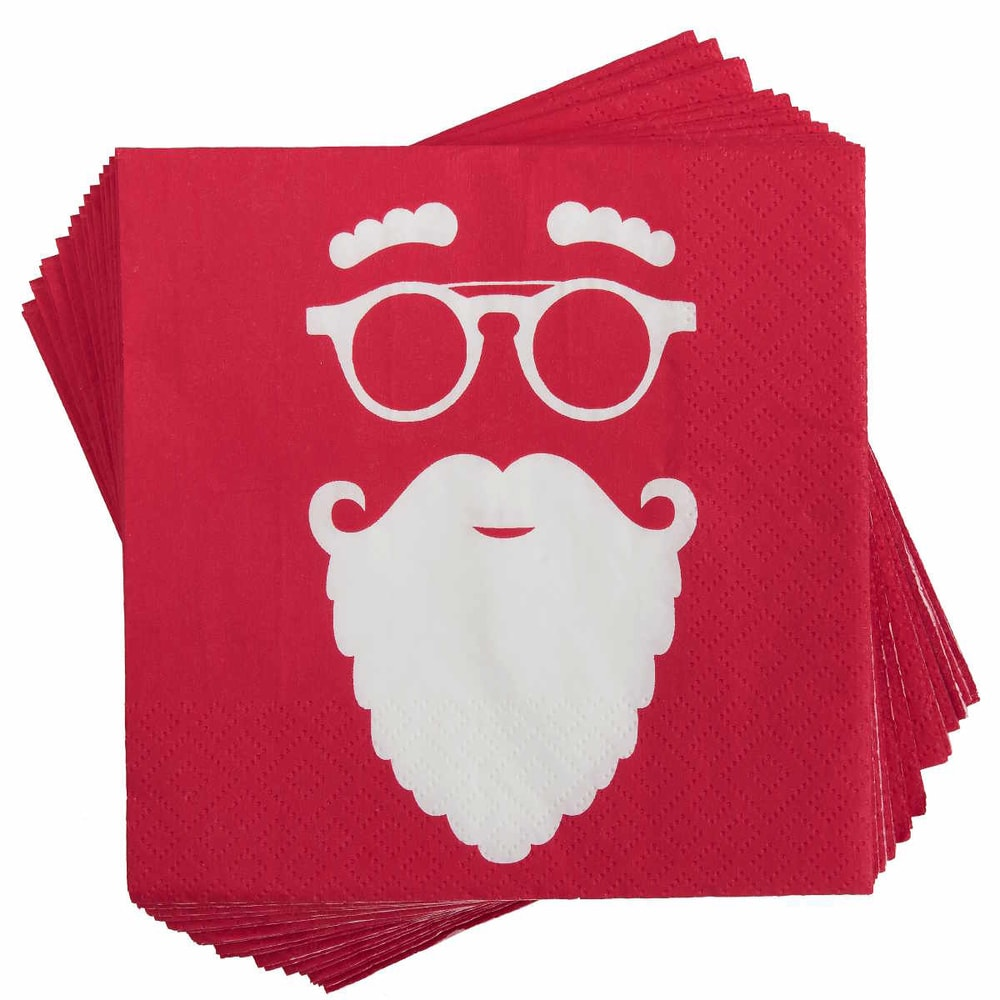 Fotografie APRÉS Papírové ubrousky Cool Santa