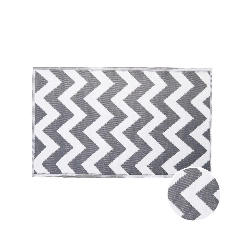 COLOUR CLASH Vnitřní a venkovní koberec cik cak 150 x 90 cm