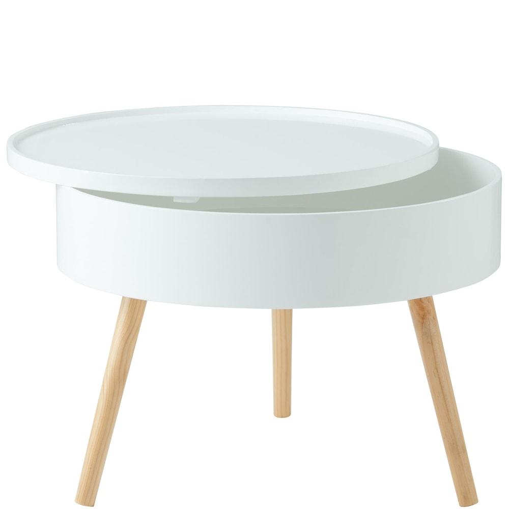 Fotografie COFFEE TIME Odkládací stolek s úložným prostorem