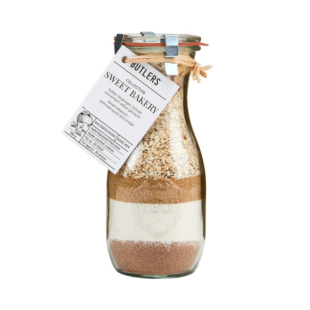 SWEET BAKERY Jablečno-karamelové sušenky 380 g SWEET BAKERY