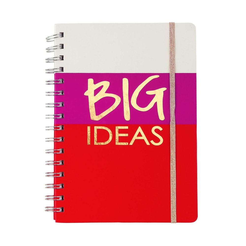 "JOURNAL Zápisník formát A5 ""Big Ideas"""