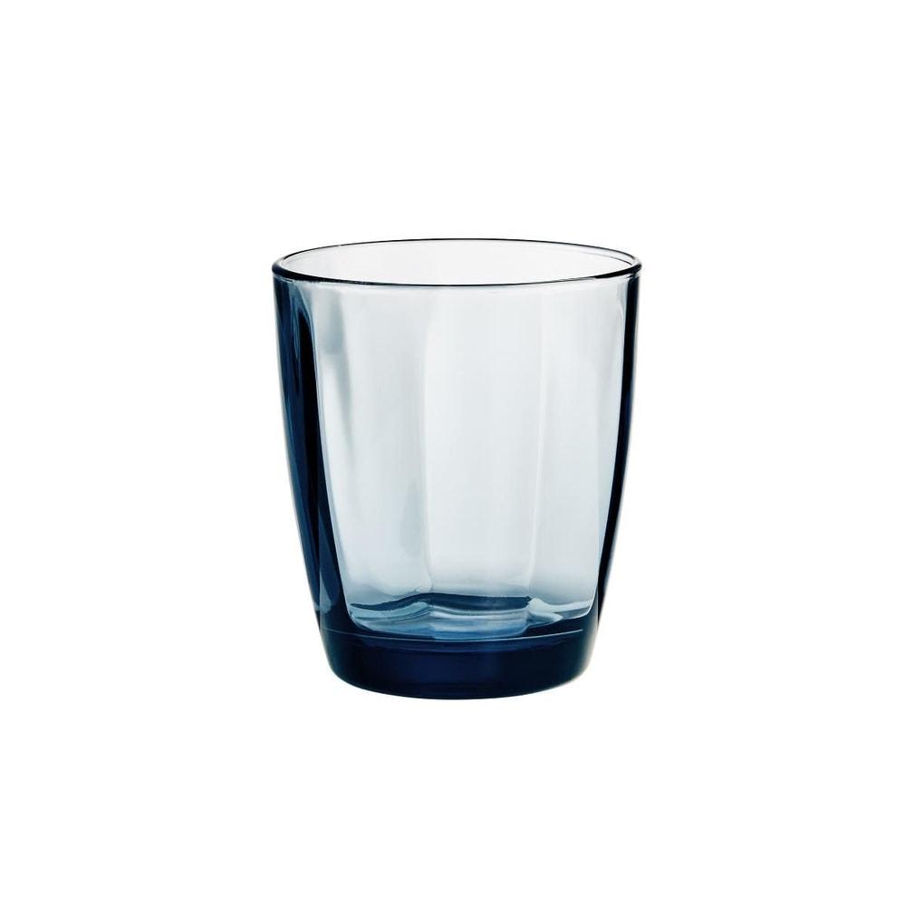PULSAR Sklenice na vodu 390 ml - tm. modrá