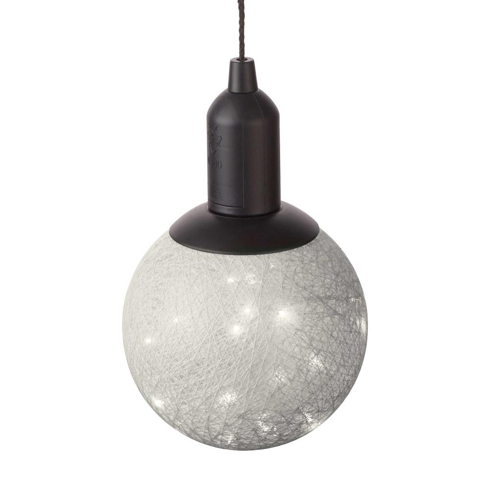 HIGH SPIRIT LED Závěsné světlo 15 cm - šedá
