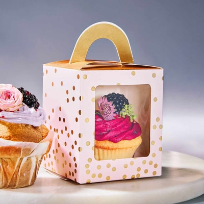 CELEBRATION Box na cupcake, set 4 ks