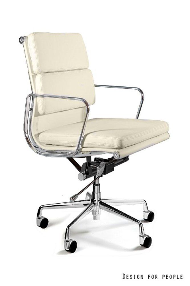 UNIQUE Kancelářská židle WYE LOW HL, béžová