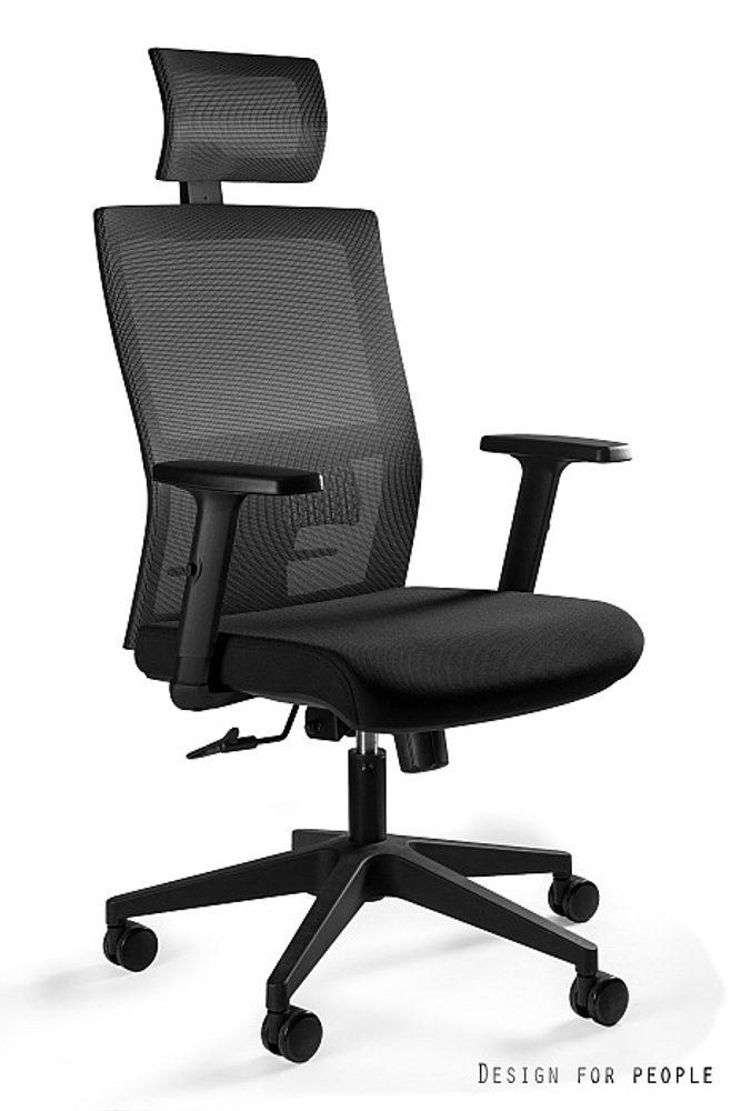 UNIQUE Kancelářská židle TASK, černá