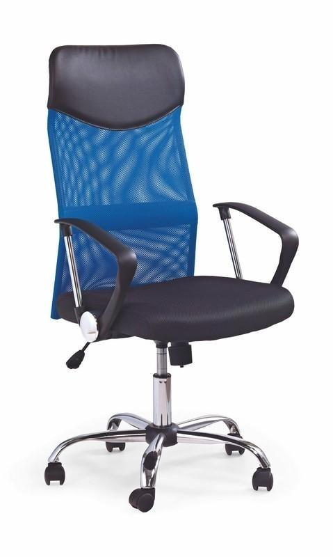 Halmar Kancelářská židle VIRE, modrá/černá