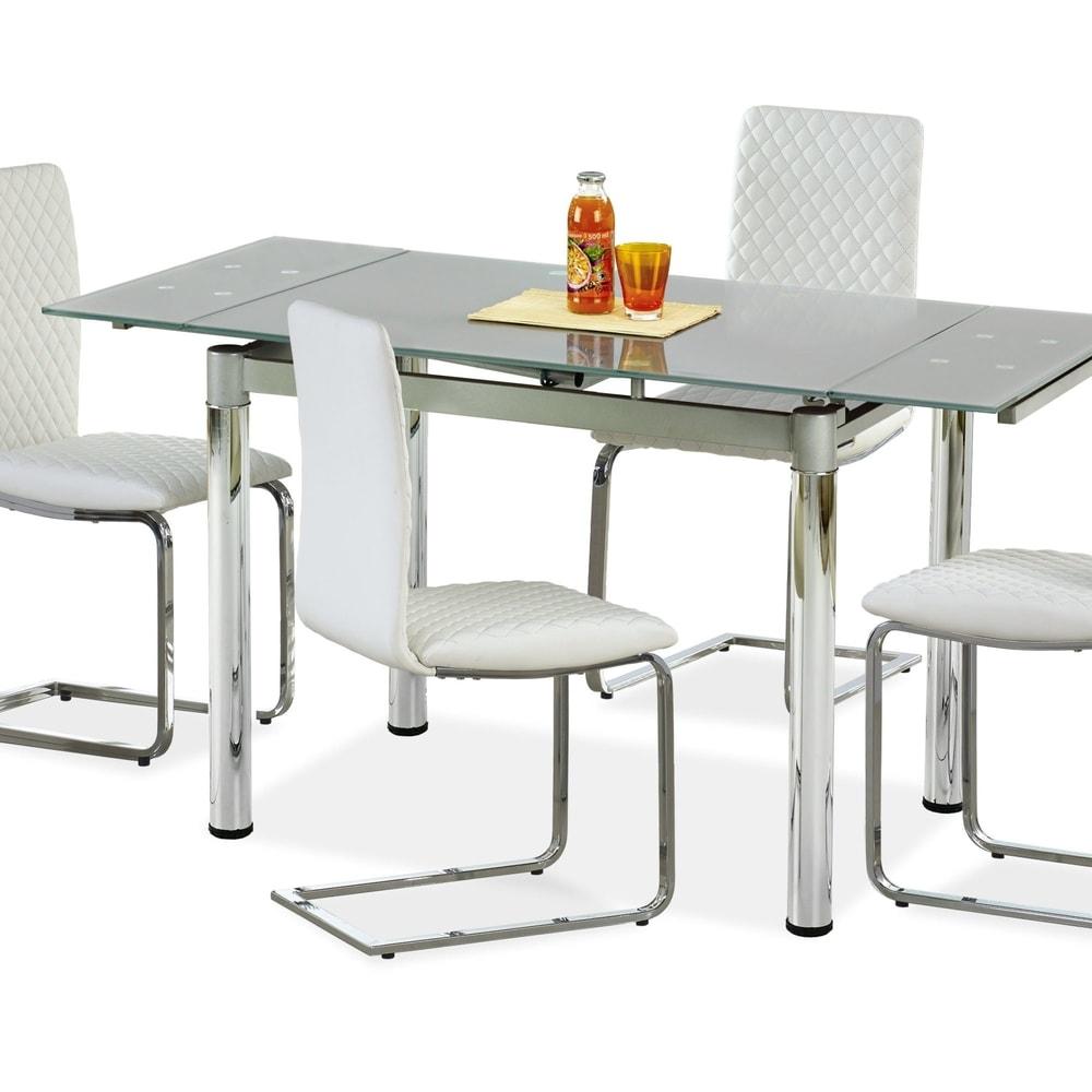 Levně Halmar Jídelní stůl LOGAN 2, šedý