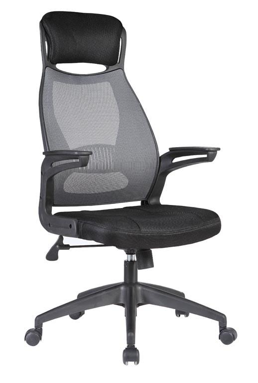 Halmar Kancelářská židle SOLARIS, černá/šedá