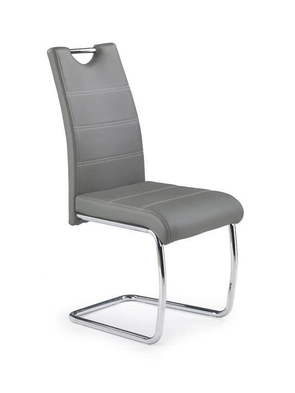 Halmar Jídelní židle K211, šedá