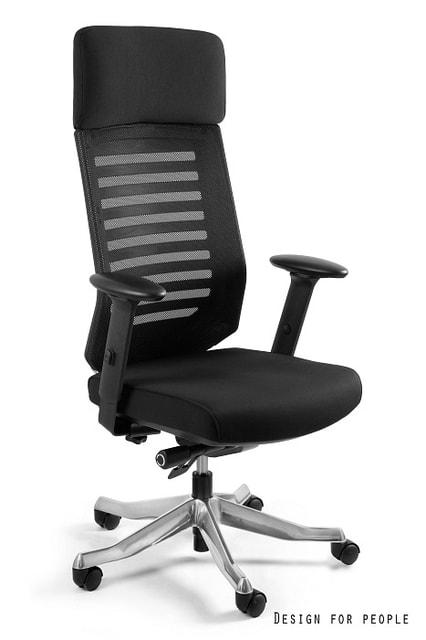 Levně UNIQUE Kancelářská židle VELO, černá