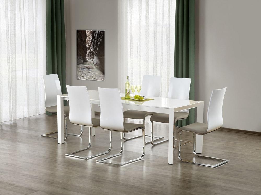 HM MÖBEL Jídelní stůl STANFORD XL, bílý