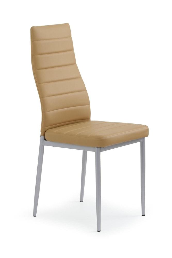 Halmar Jídelní židle K70, světle hnědá