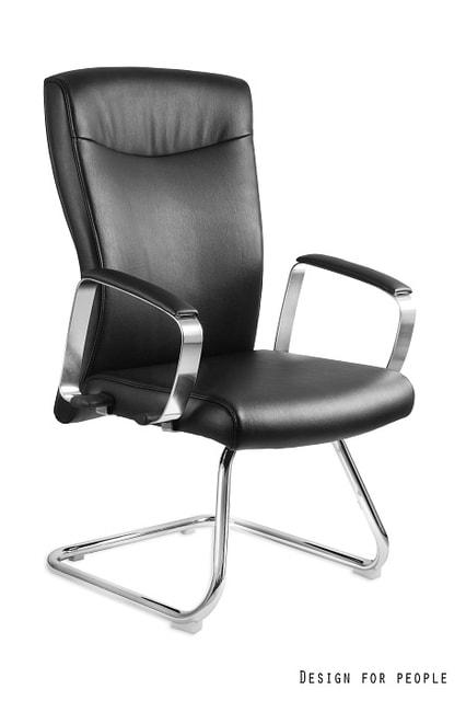 Levně UNIQUE Konferenční židle Adella Skid