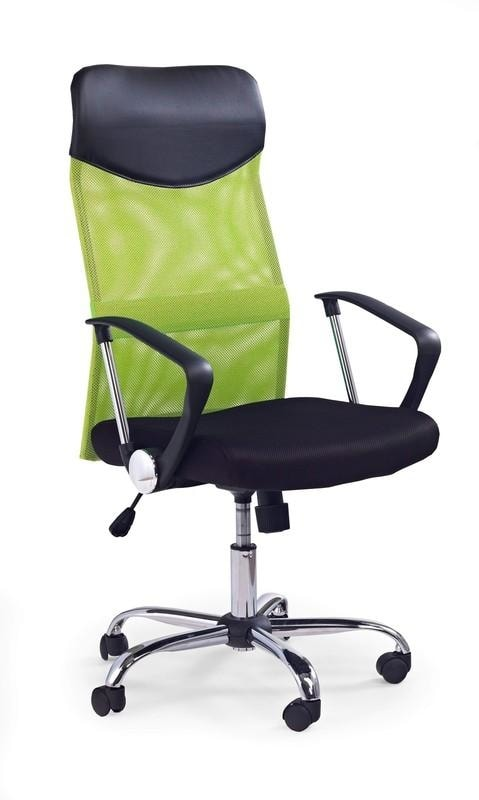 Halmar Kancelářská židle VIRE, zelená/černá