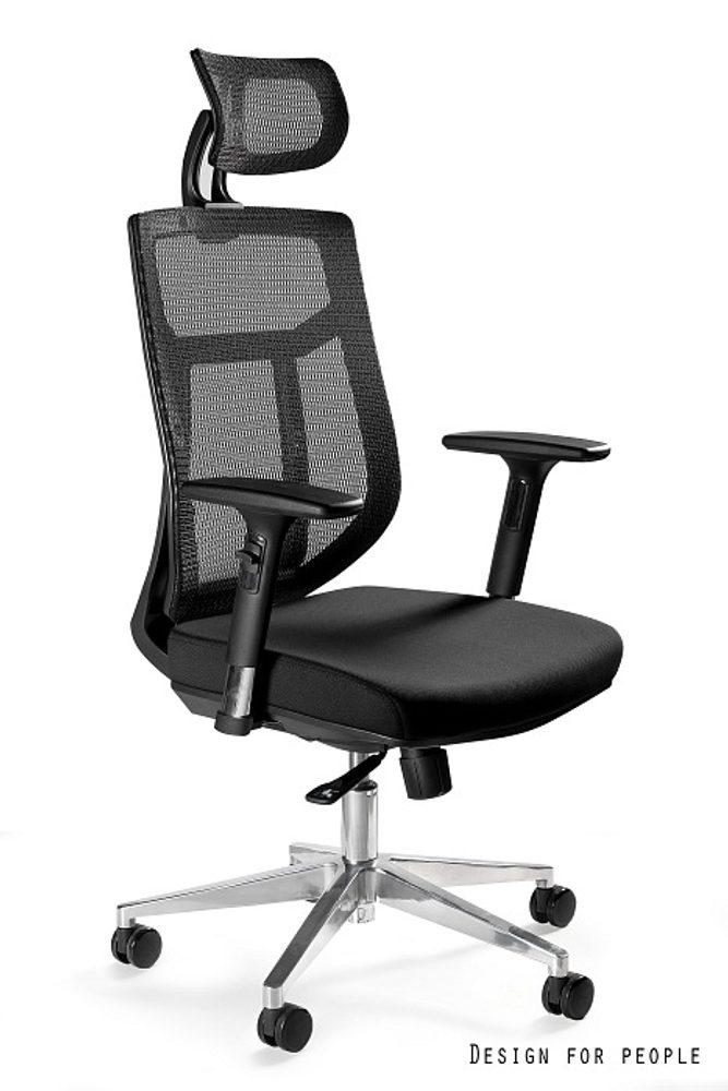 Levně UNIQUE Kancelářská židle VISTA, černá