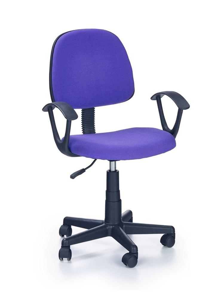 Levně Halmar Dětská židle Darian Bis, fialová