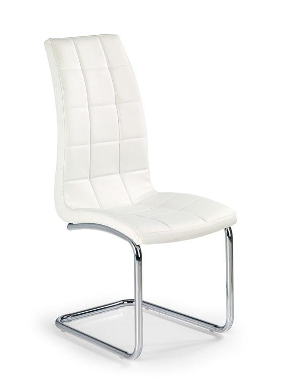 Levně Halmar Jídelní židle K147, bílá