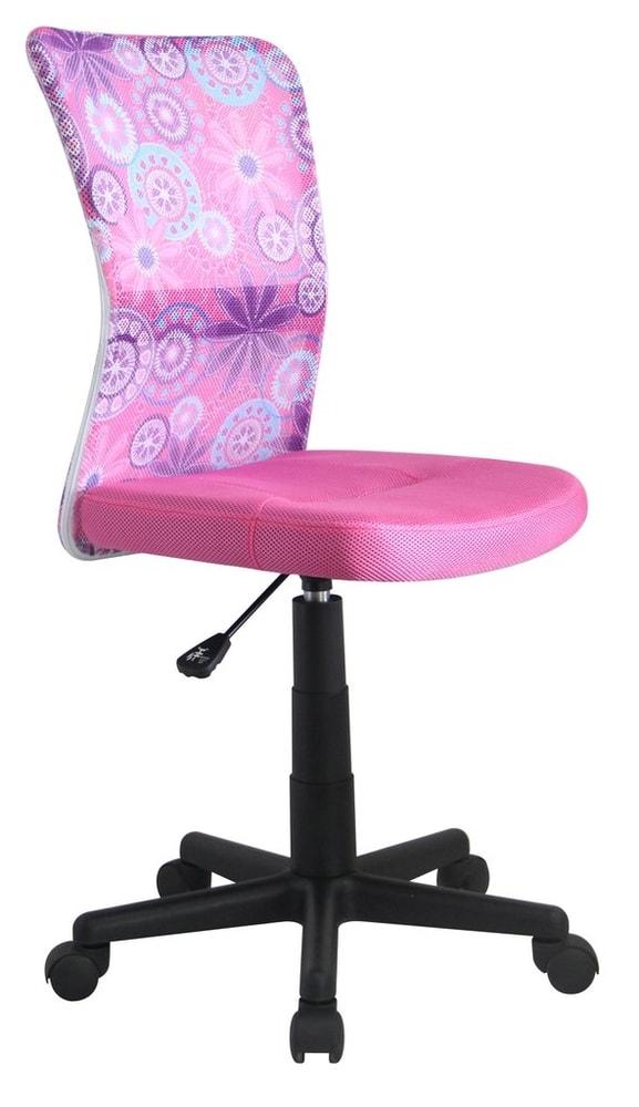 Halmar Dětská síťovaná židle Dingo, růžová