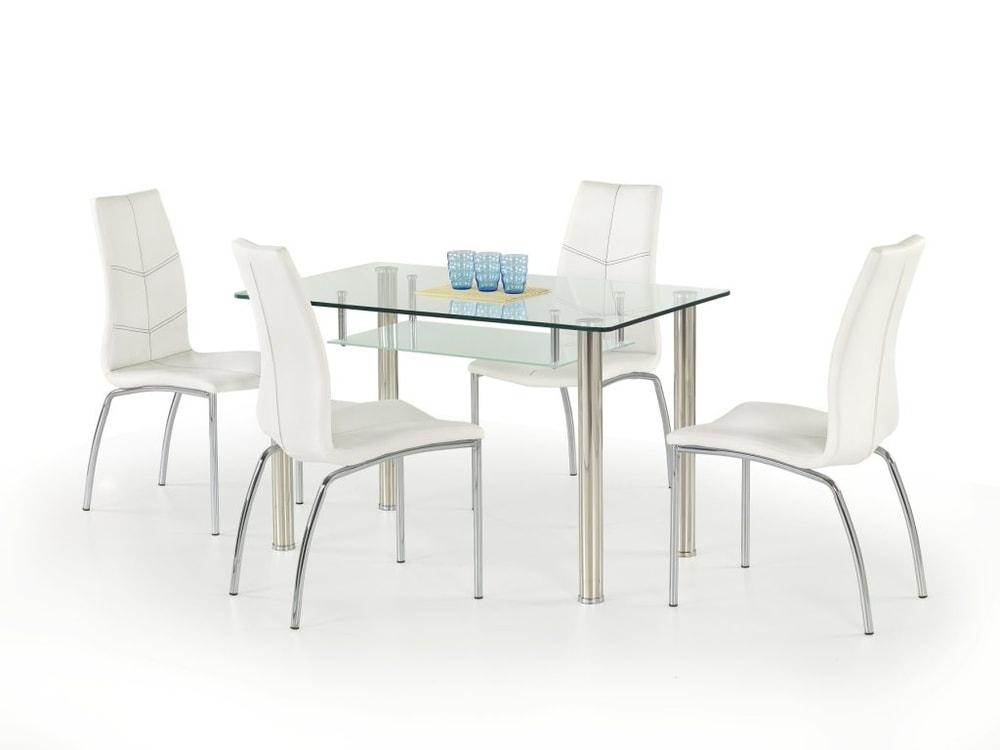 Halmar Jídelní stůl Olivier, skleněný