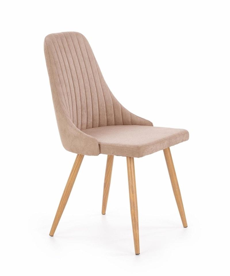 Levně Halmar Jídelní židle K285, béžová