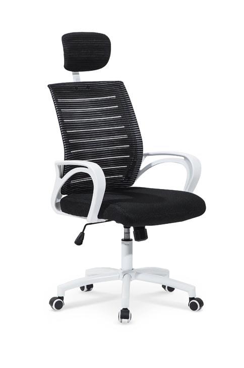 Levně Halmar Kancelářská židle SOCKET, černá/bílá
