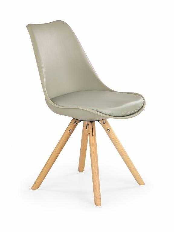 Halmar Jídelní židle K201, khaki