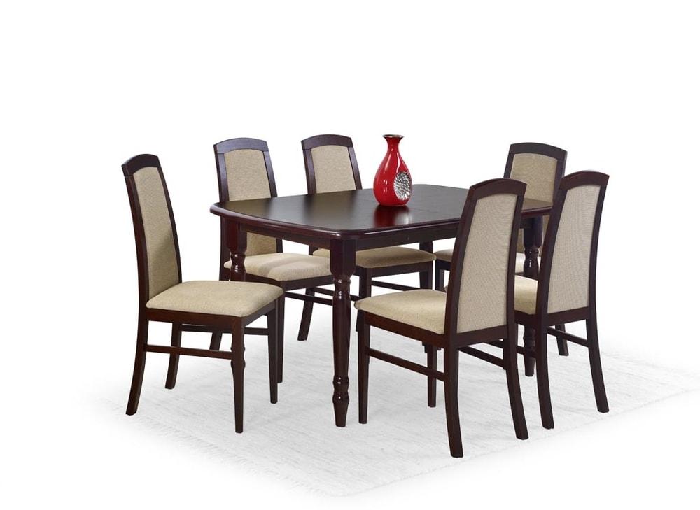 Halmar Rozkládací jídelní stůl ARNOLD, tmavý ořech