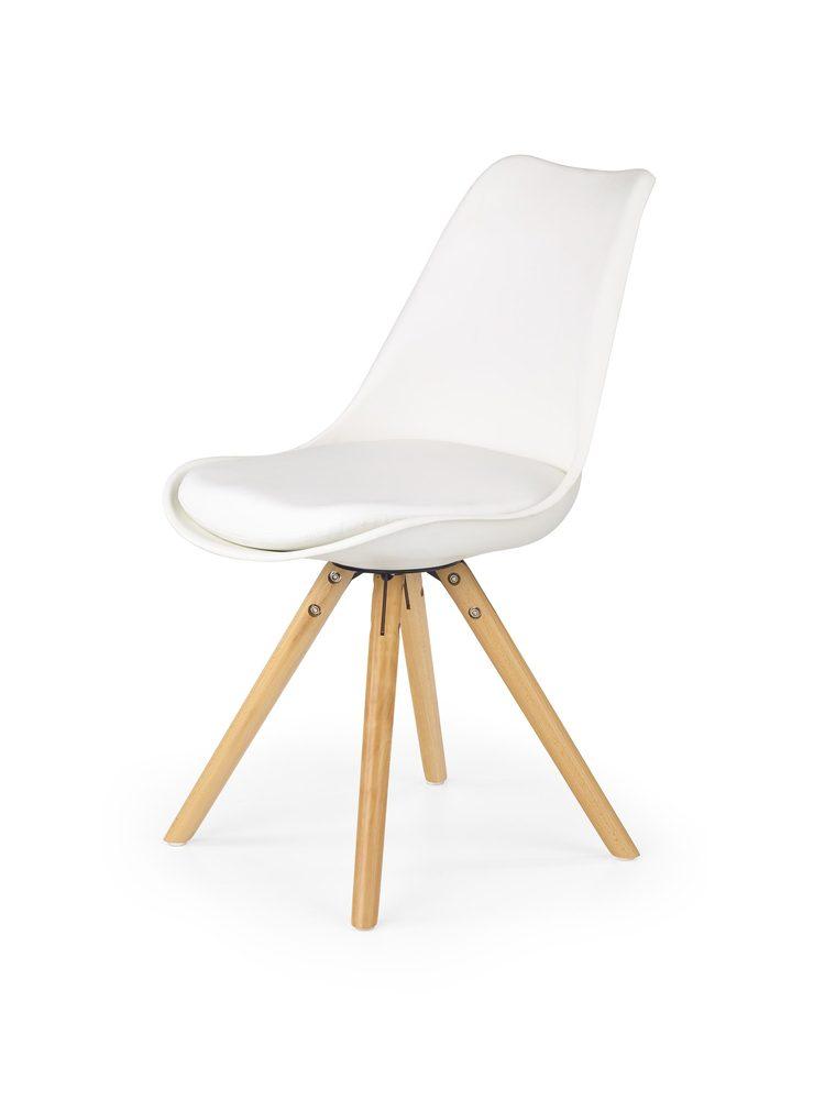 Halmar Jídelní židle K201, bílá