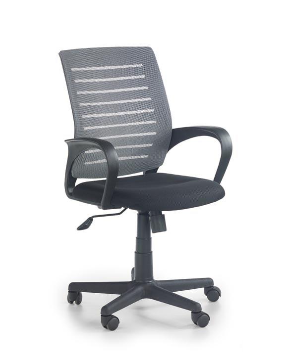 Levně Halmar Kancelářská židle SANTANA, černá/šedá