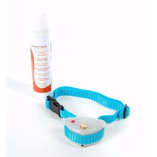 Canicalm Spray sprejový protištěkací obojek - bílá / levandule