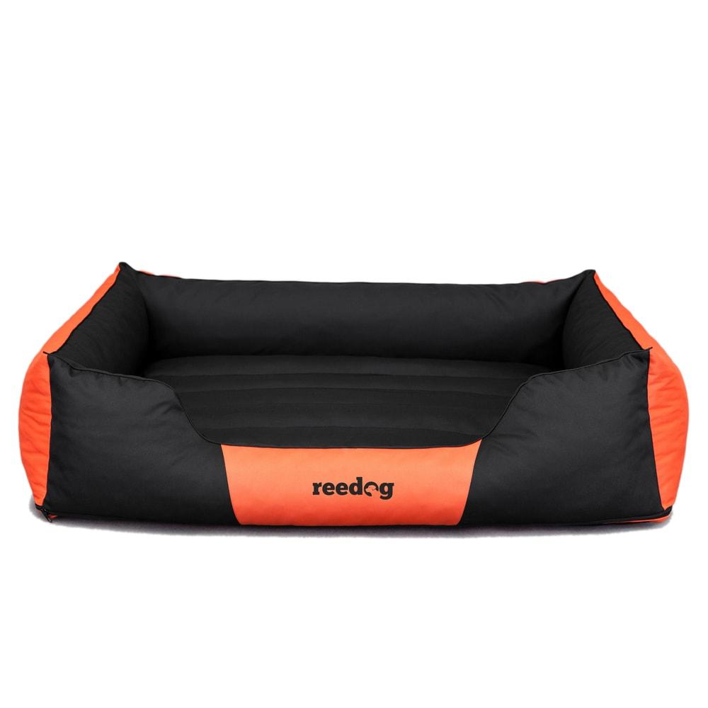 Pelíšek pro psa Reedog Comfy Black & Orange - XL