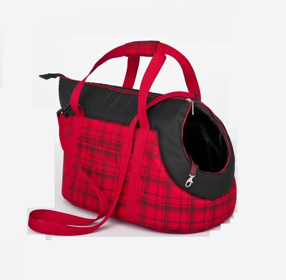 Levně Taška pro psa Reedog Torby Red Strips - S