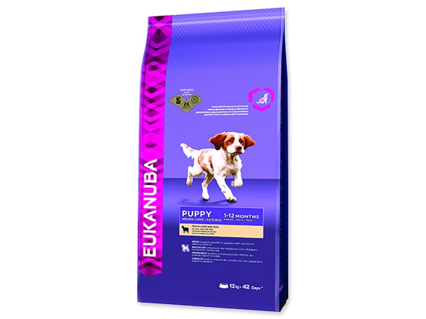 Expirováno EUKANUBA Puppy & Junior Lamb & Rice 12kg 25.6.2019