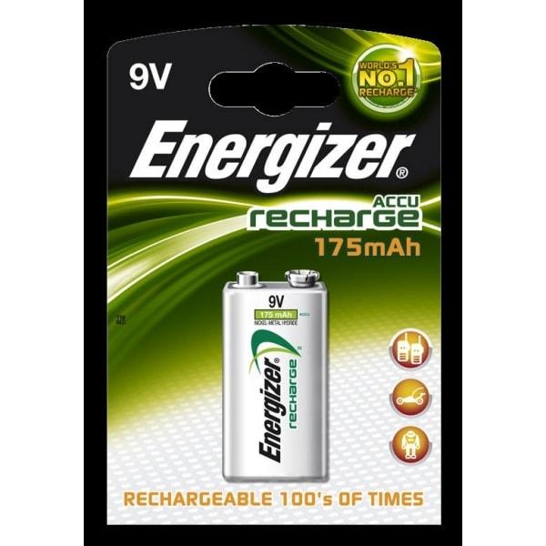 Dobíjecí baterie Energizer 9V 175 mAh