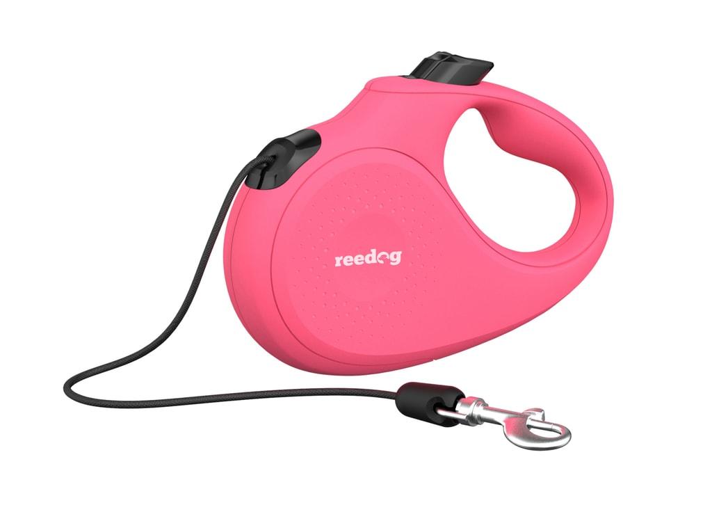 Reedog Senza Basic samonavíjecí vodítko S 12kg / 5m lanko / růžové