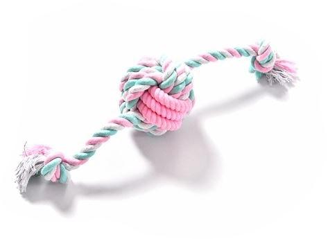 Přetahovadlo pro psy Reedog knot - růžová
