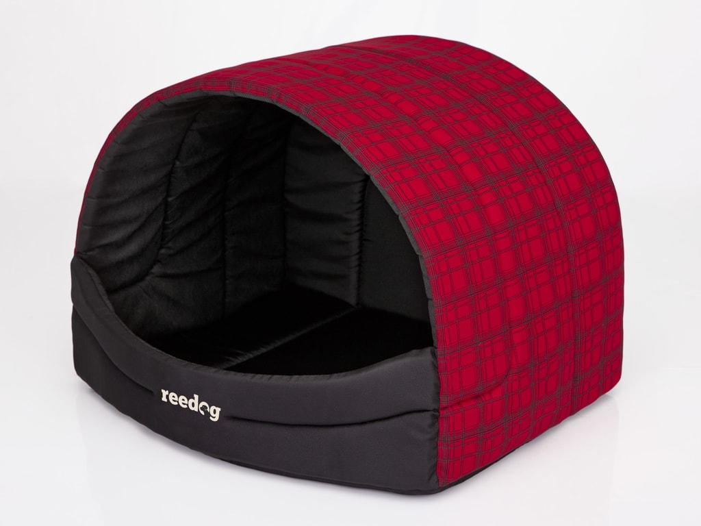 Kukaň pro psa Reedog Red Strips - L